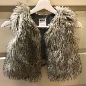 Girls Faux Fur Vest 5T